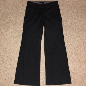 Old navy wide Leg Dress Dark Pants Size 6